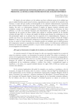 TIEMPO PRESENTE. Revista de Historia