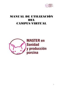 MANUAL DE UTILIZACIÓN DEL CAMPUS VIRTUAL