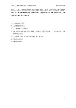 Tema 12. Realizado por La Pantera Rosa Revisión lilian TEMA 12