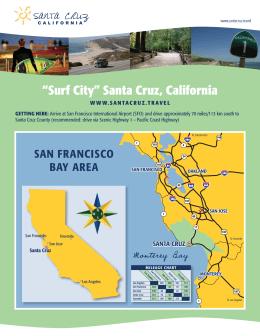 San Francisco Bay Area Regional Map