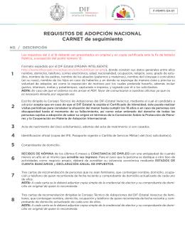 adopción nacional - DIF Estatal de Veracruz
