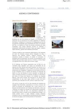 Reportaje sobre EL DEFENSOR DEL MOROSO en la revista