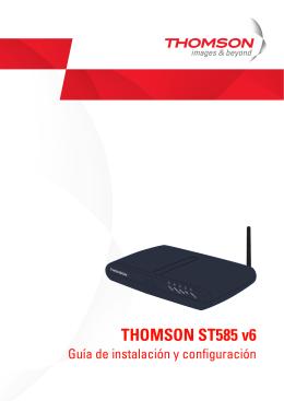 THOMSON ST585 V6
