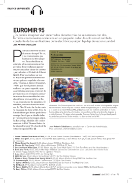 MU04: Euromir 95 (abr. 2013)