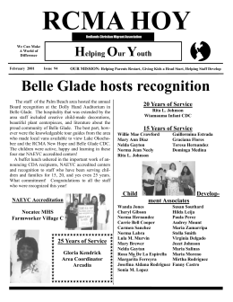 February 2001 Issue - Redlands Christian Migrant Association