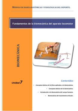 PDF 7 Fundamentos de la biomecánica del aparato locomotor