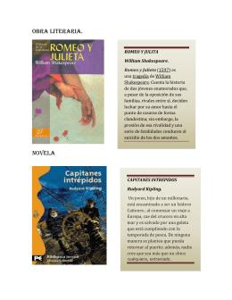 Obra literaria - La Biblioteca