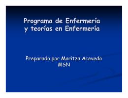 Programa de enfermería - Sistema Universitario Ana G. Méndez