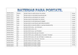 BATERIA NUEVA LENOVO BATERIA PORTATIL