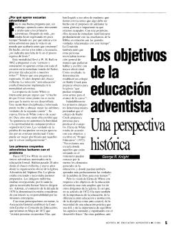Los objetivos de la educación adventista