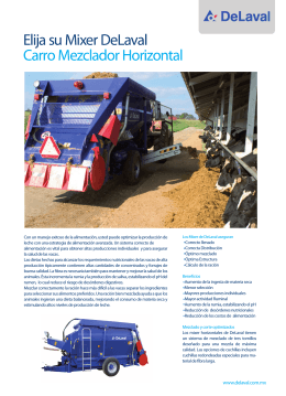 Mixer Horizontall.indd - Su CAASA Agropecuaria