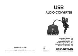 USB audio converter - user manual COMPLETE