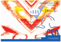 Memoria Deporte Escolar 2007 en PDF