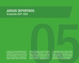JUEGos DEportIvos - Gobierno de La Rioja