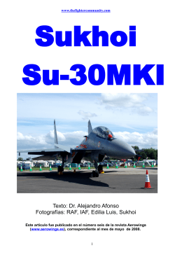 Sukhoi Su-30MKI. - The Fighter Community