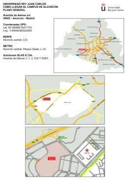 Plano general - URJC - Universidad Rey Juan Carlos