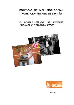 politicas de inclusión social y población gitana en españa