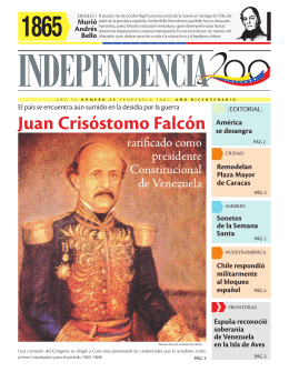 Juan Crisóstomo Falcón - Independencia 200