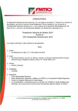 Convocatoria Nacional DFFirmas