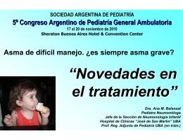 Presentación de PowerPoint - Sociedad Argentina de Pediatría