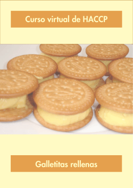 Curso virtual de HACCP Galletitas rellenas