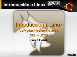 Introducción a Linux