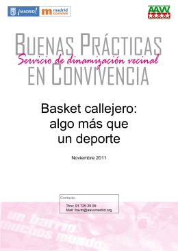 Basket callejero: algo más que un deporte