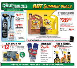 Starting At - O`Reilly Auto Parts