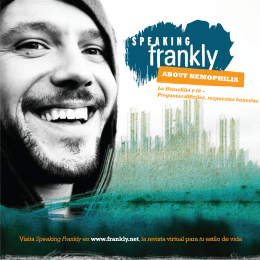 Visita Speaking Frankly en www.frankly.net, la revista virtual para tu