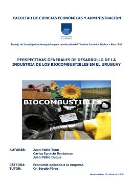 Tesis Biocombustibles