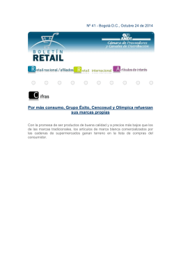 Boletin Retail No 41