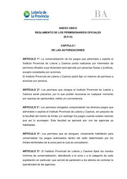 Bajar Reglamento completo PDF