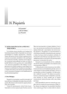 18. Psiquiatría
