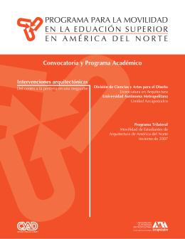 Programa Académico - UAM Azcapotzalco