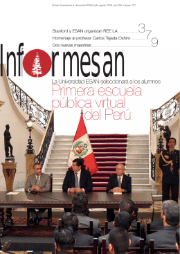 Primera escuela pública virtual del Perú