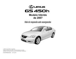 ERG GS450h - Lexus