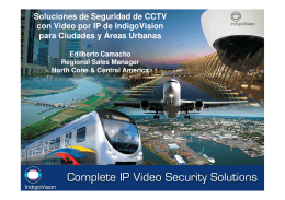 Soluciones de Seguridad de CCTV con Video
