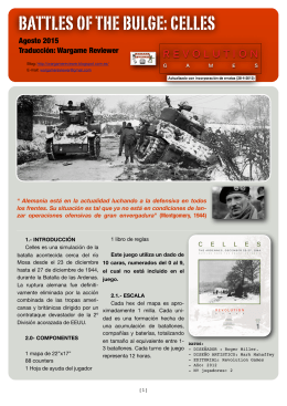 Battles of the Bulge- Celles (TRADUCCIÓN)