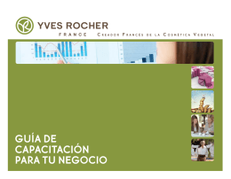 guía de capacitación para tu negocio - Yves Rocher