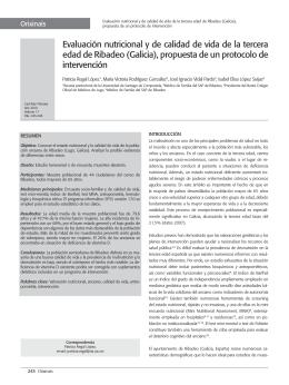 propuesta de un protocolo de intervención