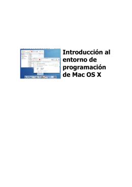 Introducción al entorno de programación de Mac OS X