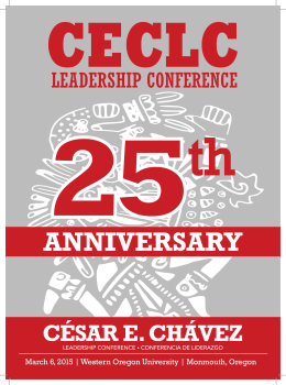 César E. Chávez Leadership Conference