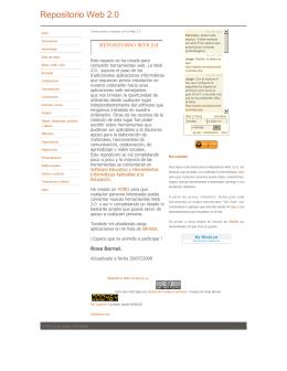 rosa bernal - Repositorio Web 2.0