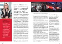 Entrevista a Marimar Laveda. Directora General de Qatar