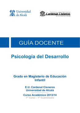 Psicología del Desarrollo - Centro Universitario Cardenal Cisneros