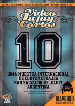 VJC-10 - Video Jujuy Cortos