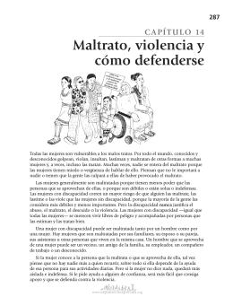 14 Maltrato, violencia y cómo defenderse