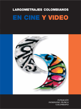 Largometrajes en cine y video, cap.tulo 1.pmd
