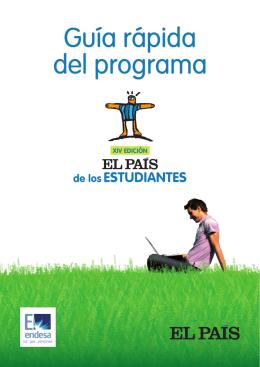 guía rápida del programa - El País de los Estudiantes