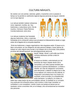 Culturas Náhuatl, Maya, Otomí y Tzeltal